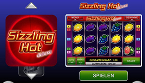 sizzling hot app iphone